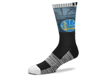 Golden State Warriors Blackout Crew Socks