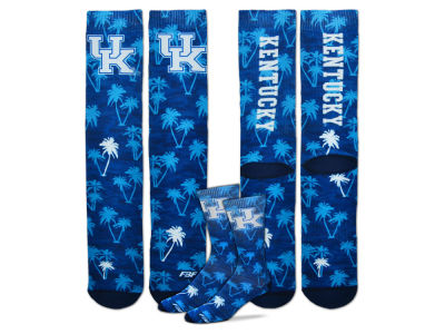 Kentucky Wildcats For Bare Feet Bananas Crew Socks