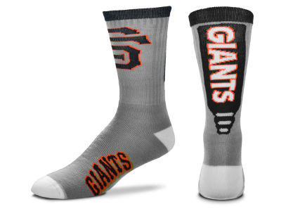 San Francisco Giants Cool Grey Jump Key Crew Sock