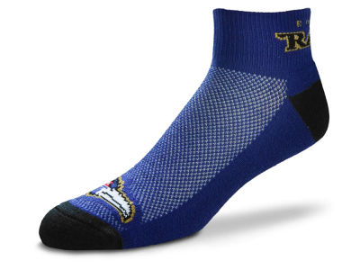 Baltimore Ravens The Cuff Ankle Socks