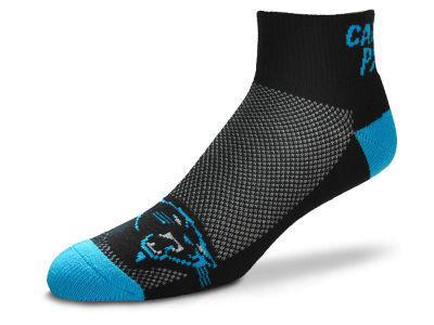 Carolina Panthers The Cuff Ankle Socks