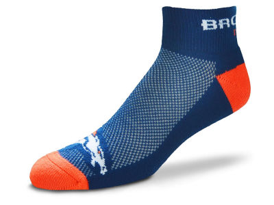 Denver Broncos For Bare Feet The Cuff Ankle Socks