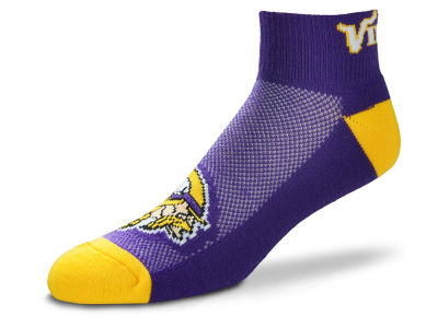 Minnesota Vikings For Bare Feet The Cuff Ankle Socks