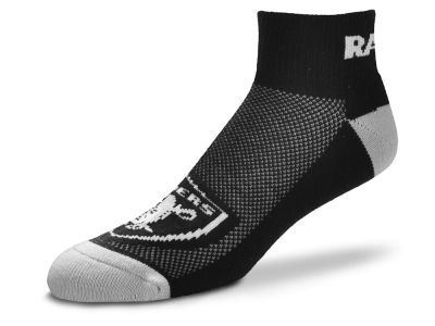 Oakland Raiders The Cuff Ankle Socks