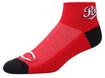 Cincinnati Reds For Bare Feet The Cuff Ankle Socks