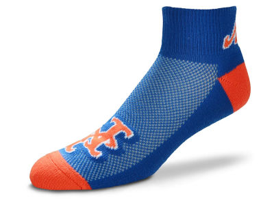 New York Mets For Bare Feet The Cuff Ankle Socks