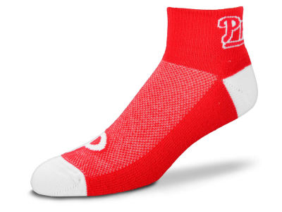 Philadelphia Phillies For Bare Feet The Cuff Ankle Socks