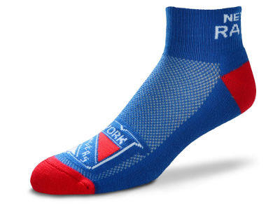 New York Rangers For Bare Feet The Cuff Ankle Socks