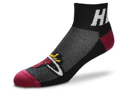 Miami Heat For Bare Feet The Cuff Ankle Socks