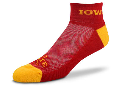Iowa State Cyclones For Bare Feet The Cuff Ankle Socks