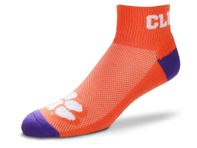 Clemson Tigers The Cuff Ankle Socks