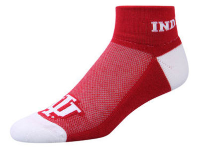 Indiana Hoosiers For Bare Feet The Cuff Ankle Socks