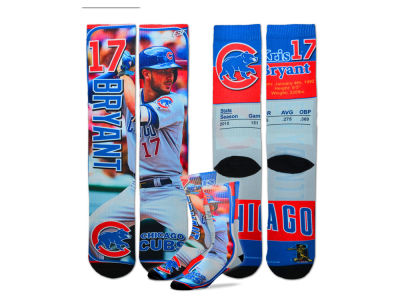 Chicago Cubs Kris Bryant For Bare Feet MLB Trading Card Player Crew Socks