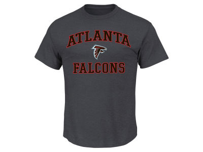 Atlanta Falcons AC DC NFL Men's Heart and Soul 3XL-4XL T-Shirt