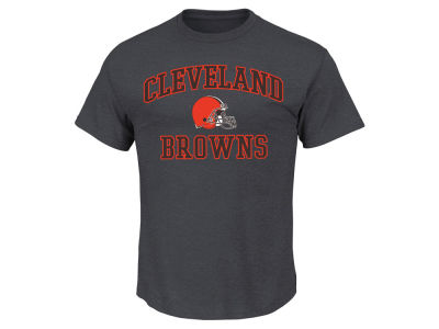 Cleveland Browns AC DC NFL Men's Heart and Soul 3XL-4XL T-Shirt