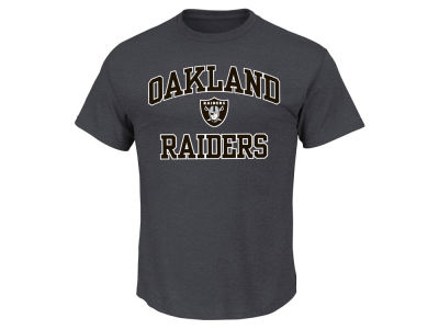 Oakland Raiders AC DC NFL Men's Heart and Soul 3XL-4XL T-Shirt