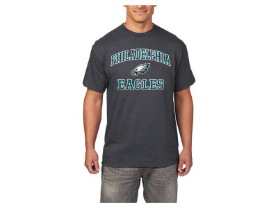 Philadelphia Eagles AC DC NFL Men's Heart and Soul 3XL-4XL T-Shirt