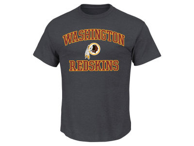 Washington Redskins AC DC NFL Men's Heart and Soul 3XL-4XL T-Shirt