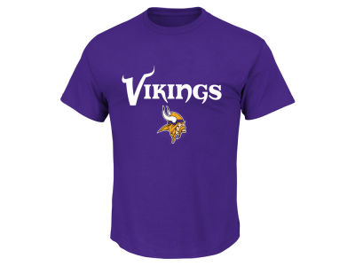 Minnesota Vikings AC DC NFL Men's Basic Logo Performance T-Shirt