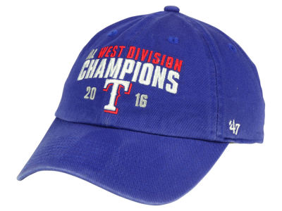 Texas Rangers '47 MLB 2016 Division Champs '47 CLEAN UP Cap