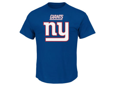New York Giants AC DC NFL Men's Basic Logo Performance T-Shirt