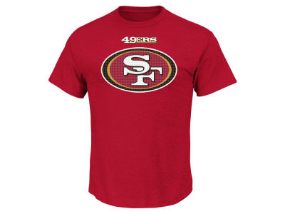 San Francisco 49ers AC DC NFL Men's Basic Logo Performance T-Shirt