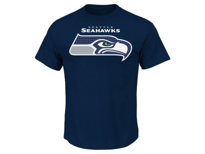Seattle Seahawks AC DC NFL Men's Basic Logo Performance T-Shirt