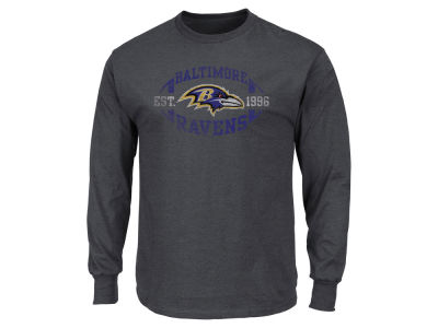 Baltimore Ravens AC DC NFL Men's Print Logo Long Sleeve T-Shirt