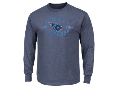 Tennessee Titans AC DC NFL Men's Print Logo Long Sleeve T-Shirt