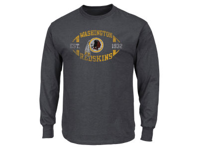 Washington Redskins AC DC NFL Men's Print Logo Long Sleeve T-Shirt