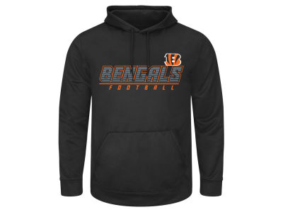 Cincinnati Bengals AC DC NFL Men's Punt Return 3X-5X Hooded Sweatshirt