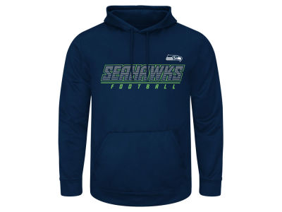 Seattle Seahawks AC DC NFL Men's Punt Return 3X-5X Hooded Sweatshirt