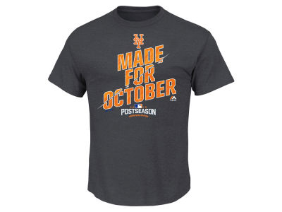 New York Mets MLB Men's Wild Card Locker Room T-Shirt