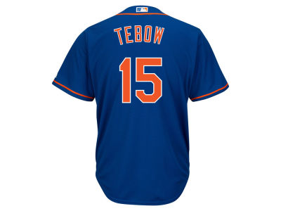New York Mets Tim Tebow Majestic MLB Men's Player Replica CB Jersey