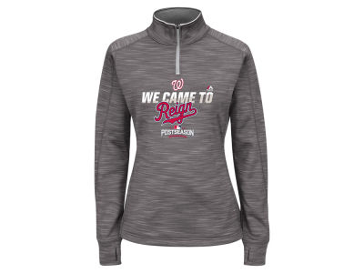 Washington Nationals Majestic MLB Women's 2016 AC Post Season Streak Hoodie