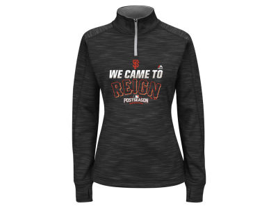 San Francisco Giants Majestic MLB Women's 2016 AC Post Season Streak Hoodie