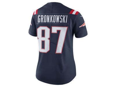 New England Patriots Rob Gronkowski Nike NFL Women's Color Rush Limited Jersey