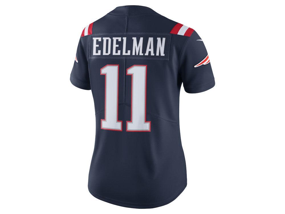 New England Patriots Julian Edelman Nike NFL Women s Color Rush Limited  Jersey  8e2046e89