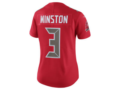 Tampa Bay Buccaneers Jameis Winston Nike NFL Women's Color Rush Limited Jersey