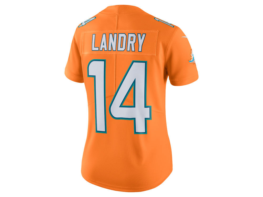 Miami Dolphins Jarvis Landry Nike NFL Women s Color Rush Limited Jersey  ccfe54891f