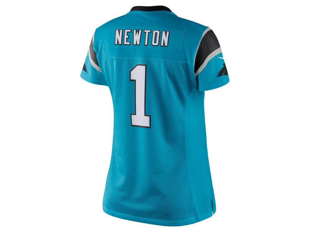Carolina Panthers Cam Newton Nike NFL Women s Color Rush Limited Jersey  e549b198b
