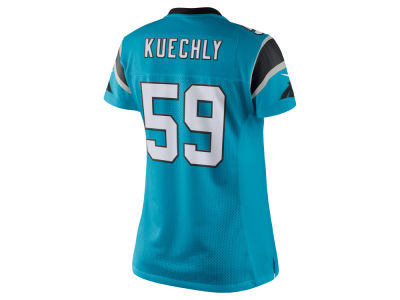 Carolina Panthers Luke Kuechly Nike NFL Women's Color Rush Limited Jersey