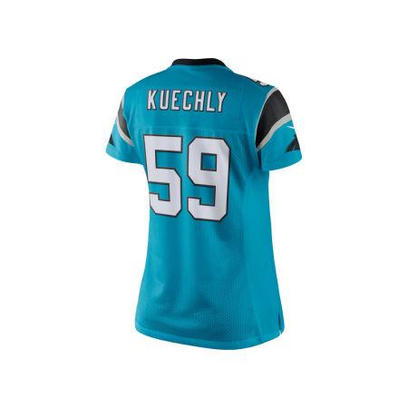Carolina Panthers Luke Kuechly Nike NFL Women's Color Rush Limited Jersey