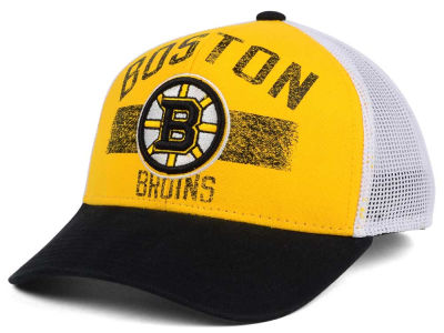 Boston Bruins Reebok NHL Truckn Adjustable Cap