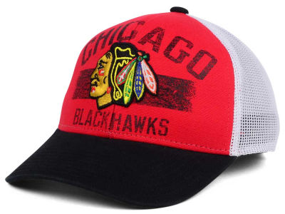 Chicago Blackhawks Reebok NHL Truckn Adjustable Cap