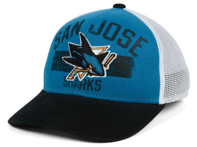 San Jose Sharks Reebok NHL Truckn Adjustable Cap
