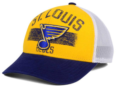 St. Louis Blues Reebok NHL Truckn Adjustable Cap