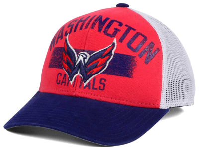 Washington Capitals Reebok NHL Truckn Adjustable Cap