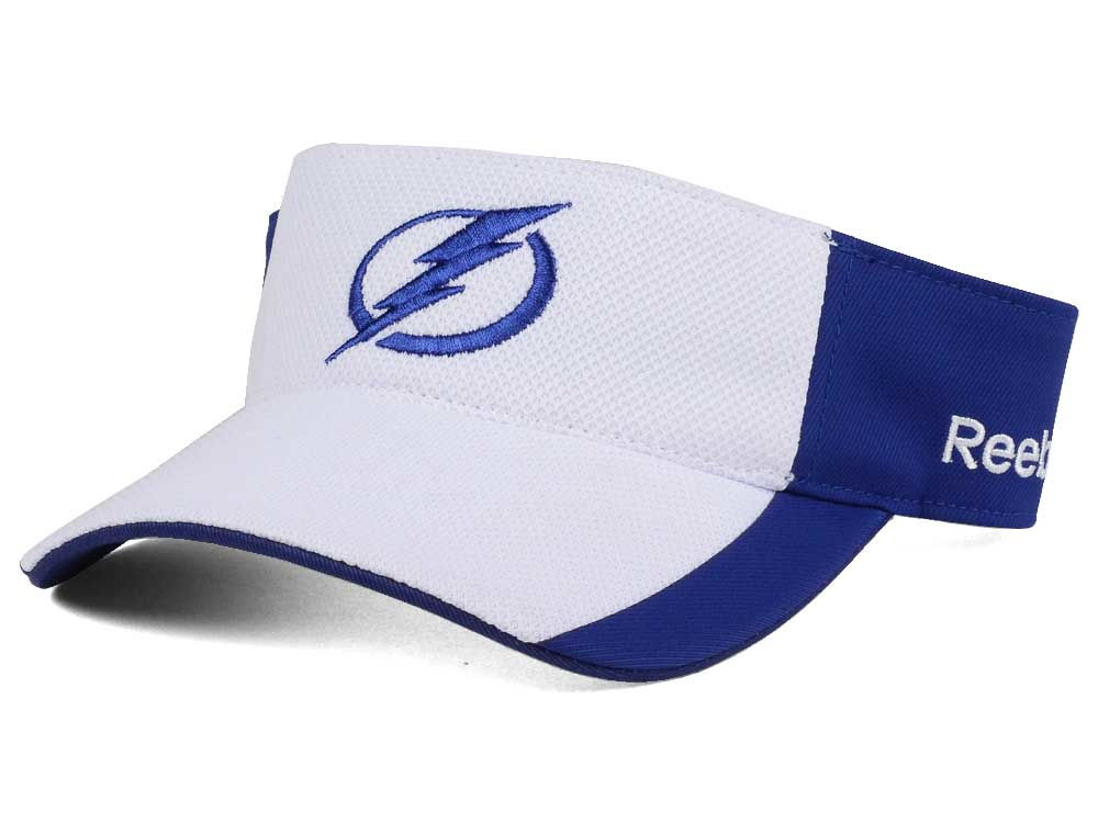 8e3d25f7714 Tampa Bay Lightning Reebok NHL Train Me Visor