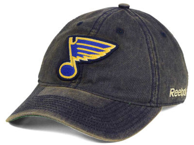 St. Louis Blues Reebok NHL Over Dye Slouch Cap
